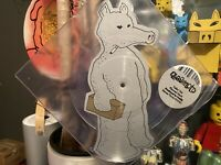Quasimoto Talkin Shit Planned Attack 7in Picture Disc 45 Madlib Rare Gold