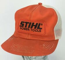 newest b122b 66665 Vintage Stihl Power Tools Mesh SnapBack Hat  Cap - Large Patch - K-Products