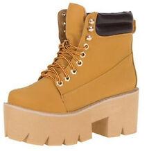 Damenschuhe Schuhe Damen Schuhe, CL-6, STIEFELETTEN Gr 41 Camel