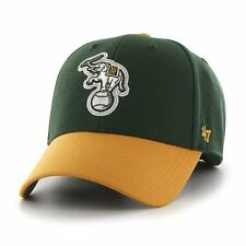 Oakland Athletics A's 47 Brand MLB Strapback Adjustable Dad Cap Hat MVP Elephant