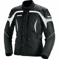 IXS Mamba Motorcycle Textile Jacket - Black White