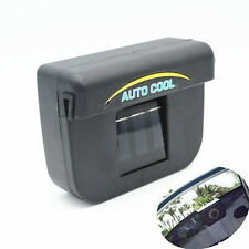 Car Window Cool Ventilation System Solar Sun Powered Air Cooler Fan Vent For BMW