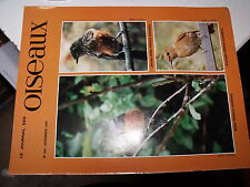 µµ Le Journal des oiseaux n°240 Cageot transport Pinson des arbres Papovavirose