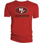Внешний вид - San Francisco 49ers T-Shirt Graphic Men Cotton SF