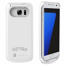 Blanco Externos batería Funda Cargador Para Samsung Galaxy S7 s7 S VII G930F