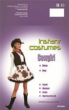 COWGIRL WILD WEST FANCY DRESS COSTUME A0069