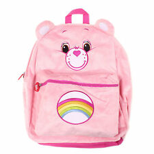 "Care Bears Plush Grumpy Bear Pink 16"" inches Large Backpack - Licensed Product"