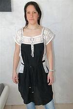 vestido túnica seda con encaje HIGH USE talla 38 nuevo ETIQUETA valorada en