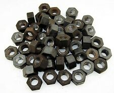 (50) Heavy Hex Nuts 7/8-9 Unplated NC Coarse 2H