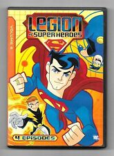 DVD / LEGION OF SUPER HEROES VOLUME 2 (4 EPISODES) DC COMICS MARVEL COMME NEUF