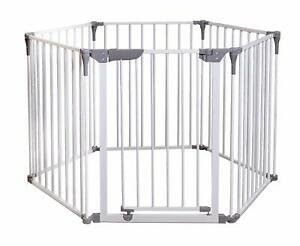 Dreambaby Royale Converta 3 in 1 Playpen, Fireguard, and Room Divider - White