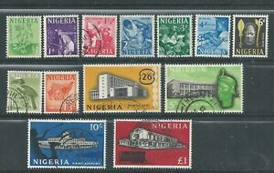 Nigeria - 1961 Definitive Issue - Complete Set - Postally Used
