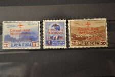 MONTENEGRO occupation 1944 serie neuve * RED CROSS