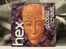 HEX - SOUNDTRACK TO GLOBAL CHAOS LP EX/EX UK 1st PRESSING 1993 NINJA TUNE ZEN 5