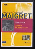 EBOND MAIGRET L'AFFARE PICPUS DVD D557214