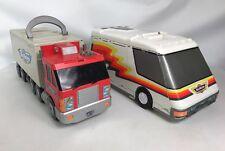 Micro Machines Otto camión jugar ciudad ciudad jugar juegos & Super Van Galoob 1990s