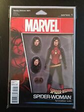 Spider-woman #1 Action Figure Variant Cover Comic Book 2016