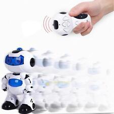 RC Robot Toy Remote Control Musical Electronic Walk Dancing Lighten Gift Robot