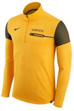 NWT NIKE Men's Sz L Dry Fit Logo 1/2 Zip Pullover Lighweight Jacket