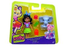 Polly Pocket Butterfly Zoo LILA 9.5cm Doll with Accessories (DNB63) by Mattel
