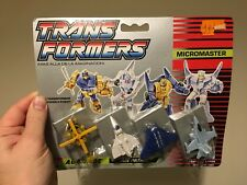 Transformers G1 Air Patrol Autobots Micromaster MOC Carded New
