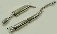 OBX Catback Exhaust Fits For 1998 thru 2009 Saab 9-5 2.0L 2.3L 3.0L 2.3T Sedan