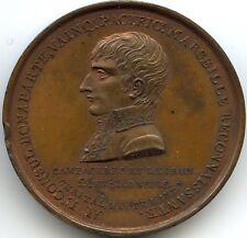 Konsulat Napoleon Bonaparte Medaille Säule Napoleon Bis Marseille 1802