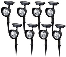 8~ 4-LED Solar Garden Lamp Spot Light Outdoor Lawn Landscape Spotlight Lighting