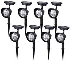 8~ 4-LED Solar Garden Lamp Spot Light Outdoor Lawn Landscape Spotlight Lighting