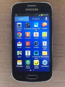 Téléphone Samsung Galaxy Trend Lite Noir - GT-S7390G FONCTIONNEL