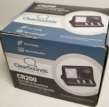 ClearSounds CR200 ClearRing Amplified Telephone Ring Strobe Signaler