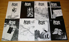 Arcana #1-11 VF/NM complete series - wells & clark - anthropomorphics set lot