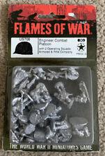 Flames Of War American Engineer Combat Platoon Us706 15mm New