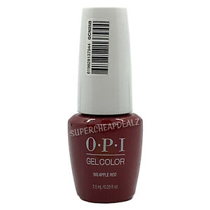 OPI GelColor Soak-Off MINI Gel Polish 7.5 ml / 0.25 oz by Color Codes AUTHENTIC