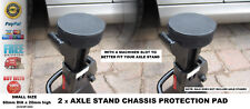 2 x Axle Stands Protection Rubber pad RATCHET type - for HAWK 3 tonne or similar