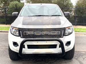 Grille grill fits ford ranger Black Xlt Px Ute Wildtrak Black Led 2011-2014