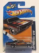 Hot Wheels 2012 '67 PONTIAC GTO BLACK  HW RACING '12  3/10 H-180
