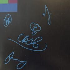 Coldplay Signed X&Y Poster Insert By All 4 In person! W/ Chris Sketch