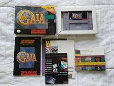 Illusion of Gaia (Super Nintendo SNES) Authentic - Complete CiB - Tested