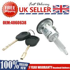 FOR FORD TRANSIT MK6 MK7 FRONT DOOR LOCK BARREL RIGHT 2 KEYS DRIVER SIDE 4060638