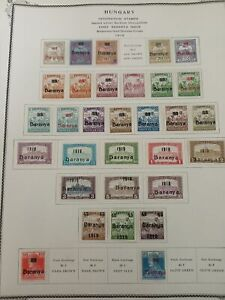 MD Hungary under Romanian occupation  stamp collection 3 pictures Scott CV 106
