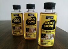 3x Goo Gone Adhesive Remover: Removes Sticky, Gummy Gooey, Messes 3x 2fl.oz/59ml