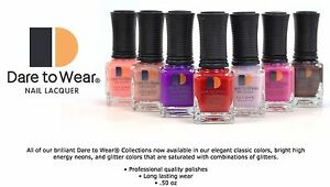 LECHAT - Dare to Wear Manicure Pedicure Regular  Nail Polish .5oz/15ml