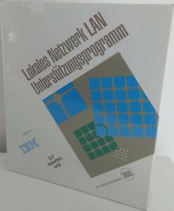 RARITÄT - IBM Lokales Netzwerk 1.3 - LAN Unterstützungsprogramm - NEUWARE