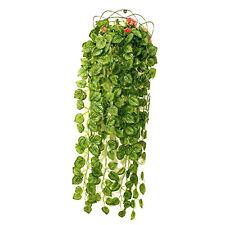 Artificial Fake Hanging Vine Plant Leaves Garland Garden Decoration LW