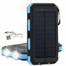 Kyng Electronics 30000mAh Solar Portable Phone Charger Bank USB Flashlights NEW