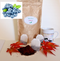 Organic Chaga Mushroom and  Blueberry Tea Bags from Finland 20 Bags