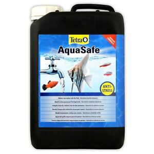 Tetra Aquasafe 5l 5 Litre Fish Tank Tap Safe Water Conditioner Declorinator