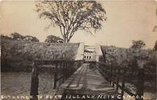 ILE AUX NOIX, QUEBEC, CANADA, FORT LENOX ENTRANCE, REAL PHOTO PC, c. 1910-20