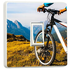 Mountain Biking Extreme sports light switch sticker cover (17952703)
